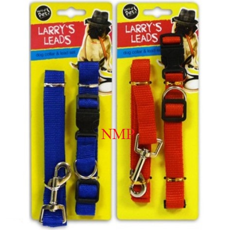 DOG LEAD & COLLAR SET (LARRYS LEADS)