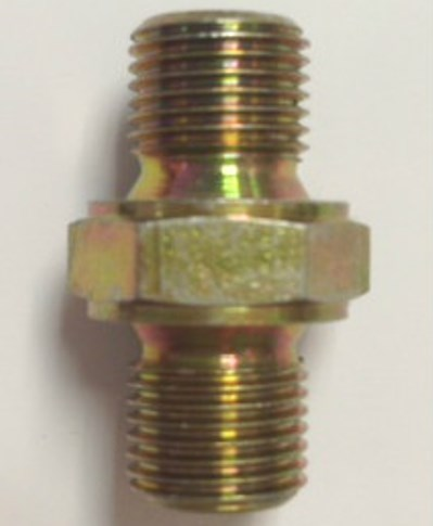 1/8 BSP MALE TO 1/8 BSP MALE BRASS ADAPTOR PCP Pre charged fittings