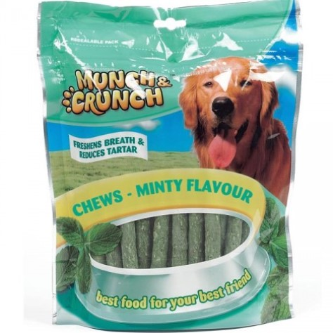Munch & Crunch Minty Chews 300g MC0015A