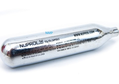NUPROL 12 gram 12g Co2 Cartridges for Air Guns a pack of 100