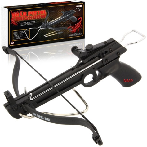 80lb RED SCORPION PISTOL CROSSBOW MK-80A1 (Plastic)