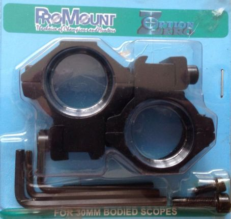30mm Ring Double Mount Pair ProMount Medium Hight 11mm rail Scope Mount