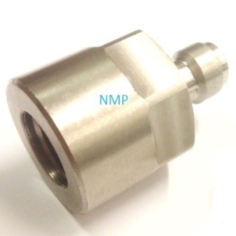 Quick Coupler Plug female 1/8 BSP to Snap On Connector For PCP Air Rifles & Fill Probes