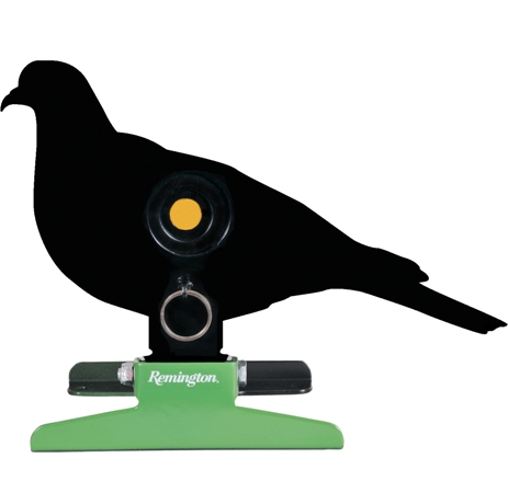 Remington Free Standing Pull String Folding Silhouette Knockdown Pigeon Target