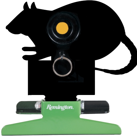 Remington Free Standing Pull String Folding Silhouette Knockdown Rat Target