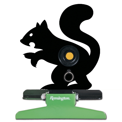 Remington Free Standing Pull String Folding Silhouette Knockdown Squirrel Target