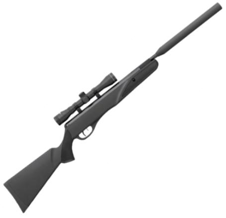 Remington thunderjet synthetic air rifle 177 calibre black synthetic
