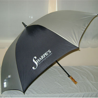 30 inch GOLF (SHARPE'S) AUTO-MATIC UMBRELLA