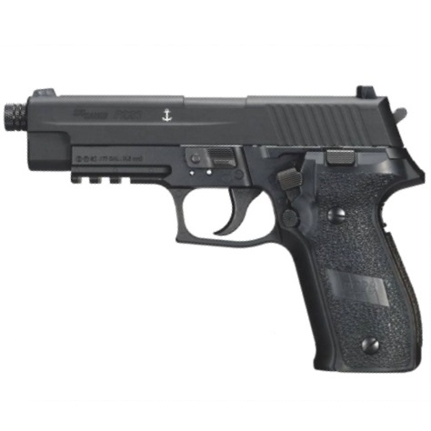Sig Sauer P226 Black 12g co2 Air Pistol .177 Full Metal Blowback ( 16 shot pellet )