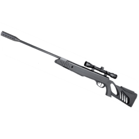 Swiss Arms SA1000 TACTICAL STOCK Break Barrel Springer AIR RIFLE WITH 4 X 32 SCOPE .22 calibre air gun pellet
