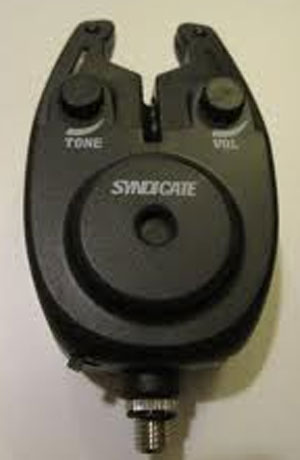 Fishing BITE ALARM WITH VOLUME, TONE, ( SYNDICATE ) x 3