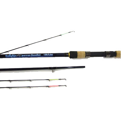 12ft TAKTIX 4 POWER FEEDER ROD 3 piece + 3 tips