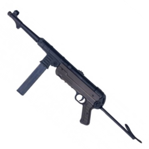 Umarex Legends MP MP40 German Legacy submachine gun blowback replica BLACK 12g co2 Powered 50 Shot 4.5mm BB