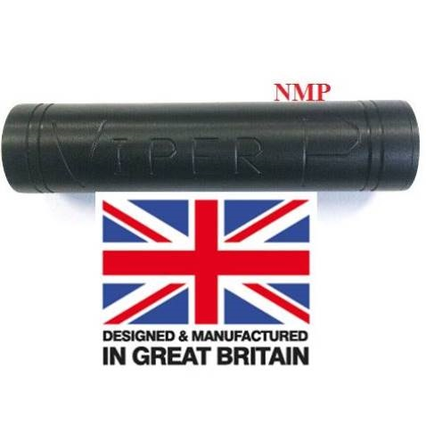 1/2 inch UNF Thread ( VIPER P Black ) Pistol sound moderator Flat (Bull Barrel) (unproofed) ( Made in UK )