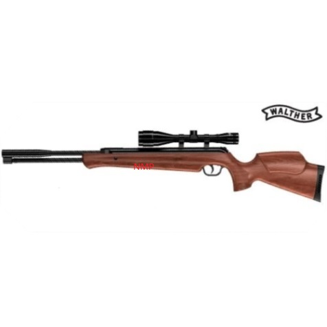 Walther LGU Master Underlever Air Rifle Wood Stock .22 calibre air gun pellet