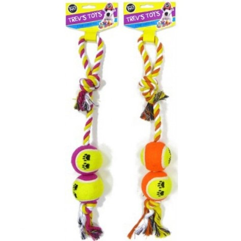 DOUBLE BALL TUG 18""