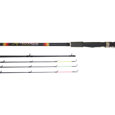 10ft XL-TECHNIQUE MULTI-TIP FEEDER ROD 5 piece (XLT106) (extra £10.00 of price when collected from store)