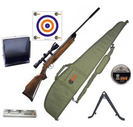 SMK SUPER GRADE XS19 BREAK ACTION Target Air Rifle ( WITH FULL KIT ) Available in .177 calibre air gun pellet