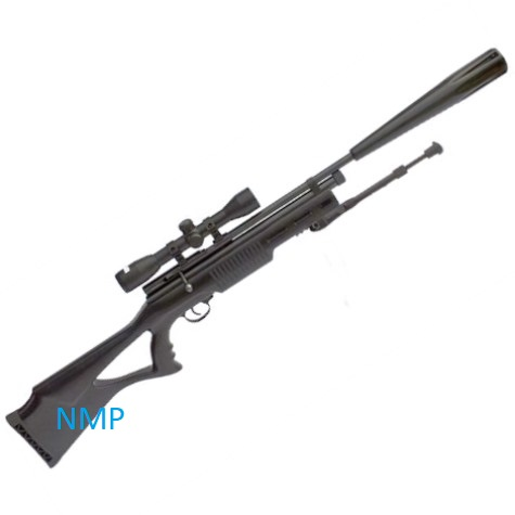 SMK SYN XS78 Tactical Multi shot 12g co2 Powered Sniper Air Rifle .177 calibre