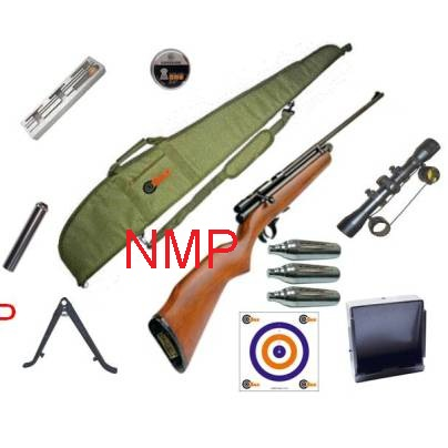 SMK XS78 12g co2 Powered Air Rifle ( WITH FULL KIT ) Available in .177 calibre air gun pellet