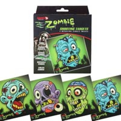 Gamo Zombie Card Targets 14cm a pack of 100